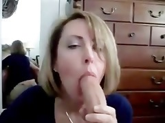 lustful wife shows her engulfing skills to the