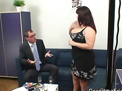 massive titted whore takes rods after photosession