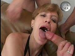 ravishing cum facial for d like to fuck