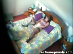 my mamma juliette 65 years fingering bedroom