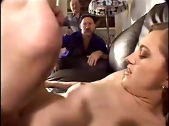 spouse watches wife engulf one more mans rod