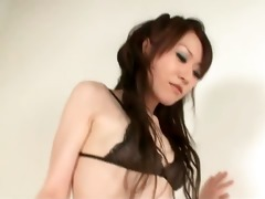 ryo kaede plays with her chaps nipps making him
