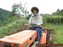 chisato shouda oriental older chick gets part2