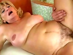breasty grandma fucking a juvenile fellow