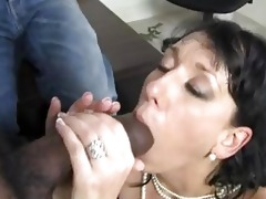 randy brunette hair momma with biggest hooter