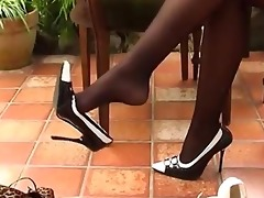 mafia wife nylon soles