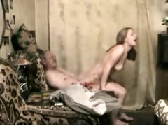 young russian escort woman satisfies lustful