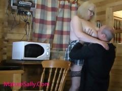 favourable boy enjoys aged sally