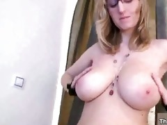 breasty golden-haired slut acquires sexually