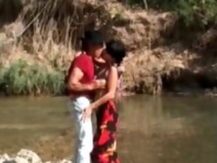 gipsy wench analfucked in the woods