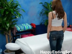 our hidden spy cameras caught evilyn the massage