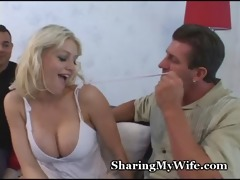 wife suggests herself to man