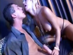 naughty taut blond daybed screwed