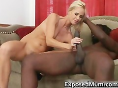 golden-haired housewife powerdrilling malutto
