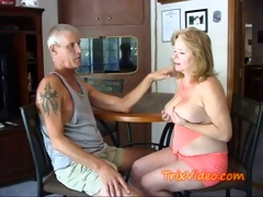 she&#189 s a ball busting strap-on granny