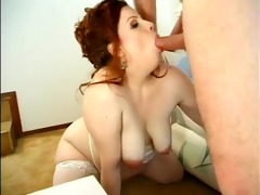 mommys hairy juicy preggy cum-hole drilled