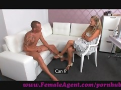 femaleagent. dude dissapoints mother i in casting