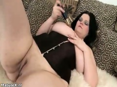 wicked aged whore goes mad rubbing