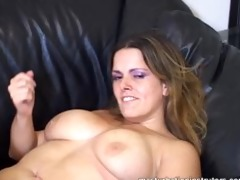 masturbation teacher flaunts her big tits to