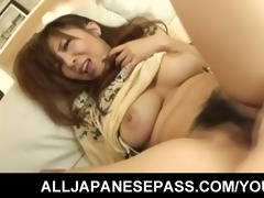 large titty japanese hottie hinano has her cookie