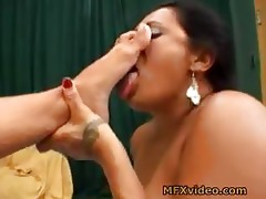 brazil mother daughter foot take up with the