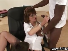 interracial older oral pleasure acquires hardcore