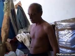 old grandad fucking cute blonde