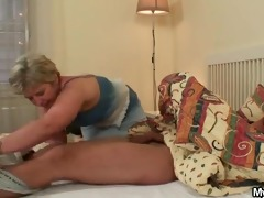 dick hungry granny fucks her son in law