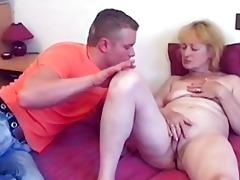 blonde milfs hawt cum-hole licked to big o