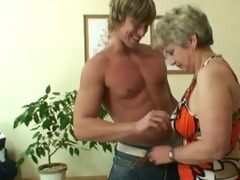 lonely granny acquires fucked in various poses