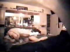 hidden web camera - cheating wife fucking in her