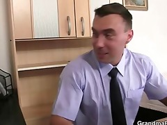 job interview leads to trio