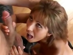 taut latin chick talked into getting plowed by