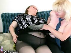 granny with large mambos masturbate