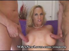 sex star babe devours multiple dicks