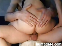excited wife acquires her butthole screwed and