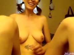 kink tall older princess masturbates her bushy