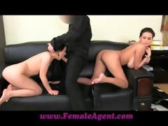 femaleagent shy cutie likes anal creampies