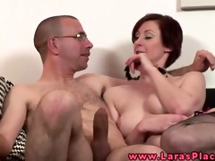 mother i in nylons team-fucked from behind