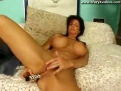 heavy titty older floozy gangbanged