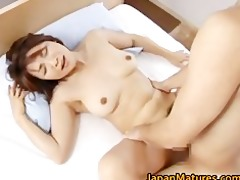 sexually excited japanese older women sucking