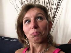 she is watches her hubby copulates her mom