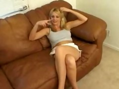 golden-haired breasty mama sucks slimy and bonks