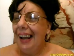 crazy old mamma getting fucked