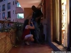 brazilian older sweetheart lazily engulfing a