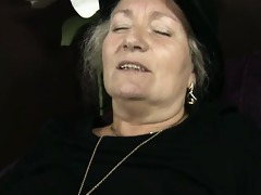 obscene old whore goes avid jerking
