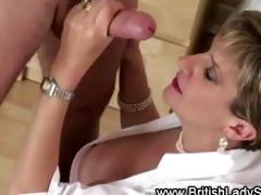 british large melons aged lady oral-stimulation