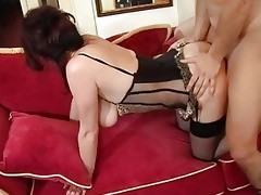 older mommy male cumshot after agonorgasmos by