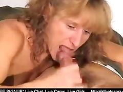 aged gives a irrumation with cumshot in throat