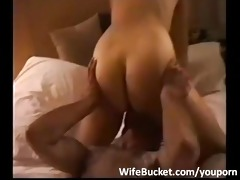 hotel three-some with amateur wife